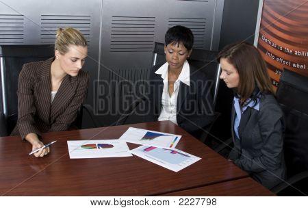 Three Female Business