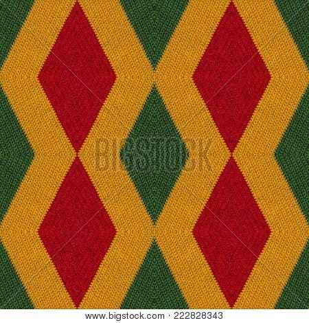 Reggae colors crochet