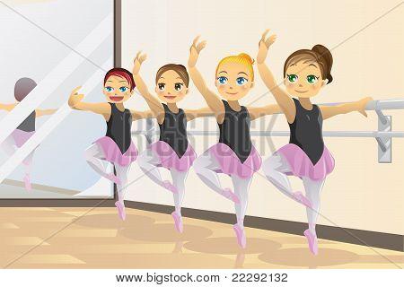 Ballerina Mädchen