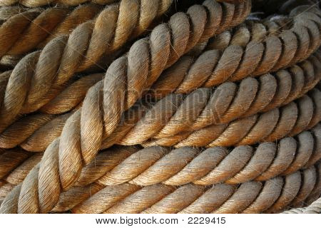 Old Nautical Rope