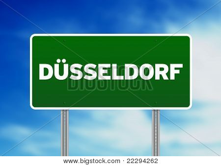Duesseldorf Roady Sign