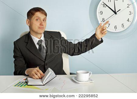 Businessman Recalls Saving Time