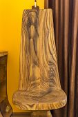 Wooden High Chair - A Piece Of Artwork poster