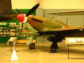 picture of pima  - This is a Hawker Hurricane MK II the type of plane that served a major role in the Battle of Britain. I had a top speed of over 340 MPH could climb to 35000 feet and carried 8 50 caliber machine guns.