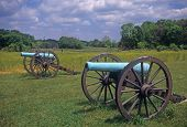 pic of yanks  - Civil War cannon at the Antietam National Battlefield American Civil WarMaryland - JPG