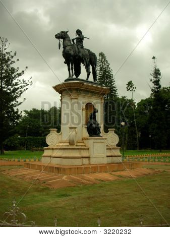 Statue Of A King Of India