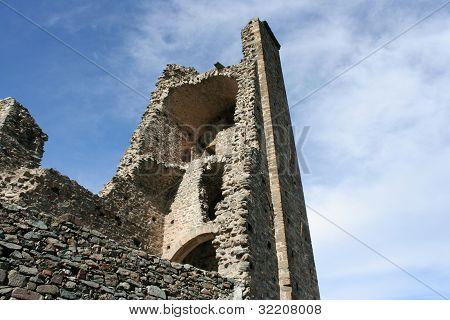 ruins of an old Roman Church