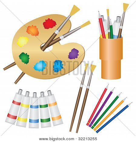 Tools For Paintings.