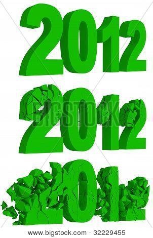 Desintegração e destruição do ano 2012