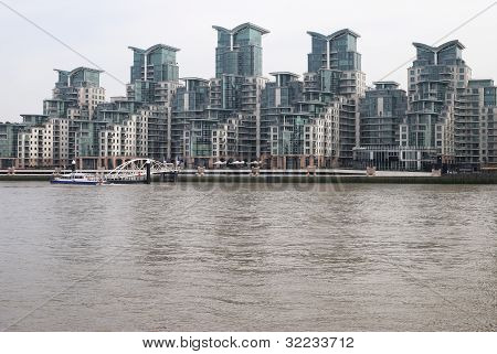 Tower Blocks At Vauxhall. London. UK