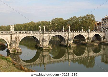 Ponte Sant'Ange in Rome.