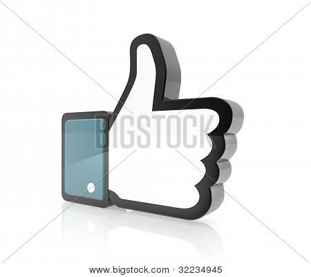 Hand Cursor - Thumb Up
