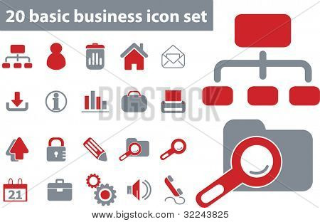 basic business 20 - vector set # 15
