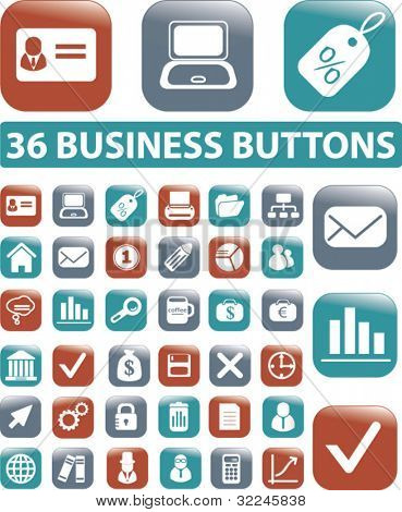 business buttons. please, visit my portfolio to find more similar.