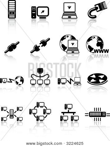 Network Vector Iconset