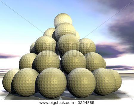 Golf Pyramid