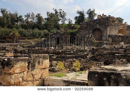 Ruin of Beit Shean