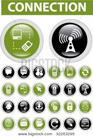 icons, signs, vector