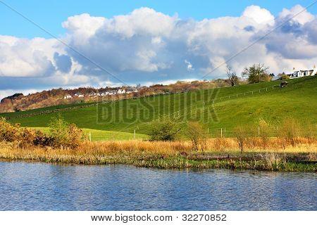 Beautiful Spring landscape, Scotland