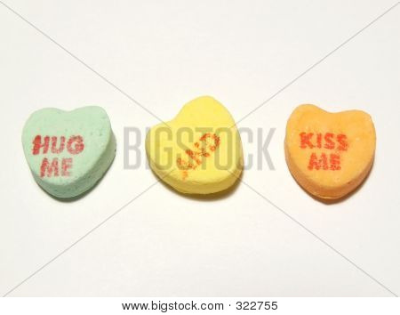 Valentines Day  Hug Me And Kiss Me