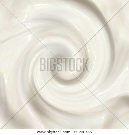 Creamy swirl background