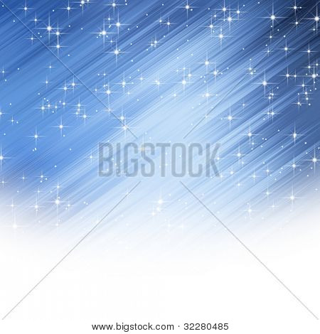 Abstract stars background with copy space