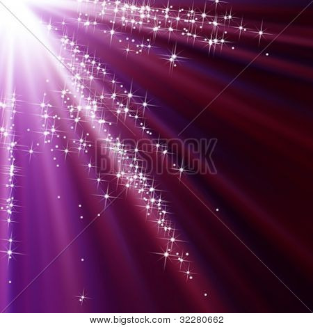 Abstract starry holiday background