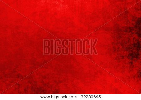 Red grungy christmas background