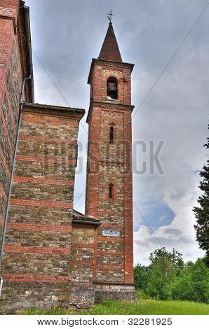 St. Antonio Abate Church. Statto. Emilia-Romagna. Italy.