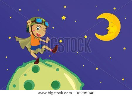 top of the world illustration - EPS VECTOR format also available in my portfolio.