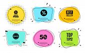 Top Tips Symbol. Best Seller, Quote Text. Education Faq Sign. Best Help Assistance. Quotation Bubble poster