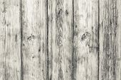 Vintage Wooden Background. White Old Boards. Wood Surface. Plank Timber. Rough Fence, Carpentry Tabl poster
