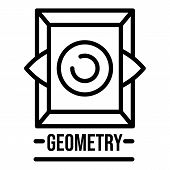 Sacred Geometry Icon. Outline Sacred Geometry Vector Icon For Web Design Isolated On White Backgroun poster