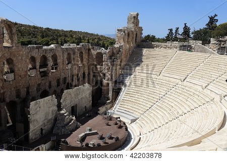 Odeon Theatre Of Herodes Atticus