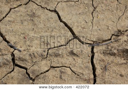 Dry Dirt Ground
