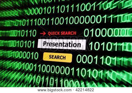 Search For Presentation