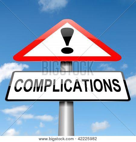Concepto de complicación.
