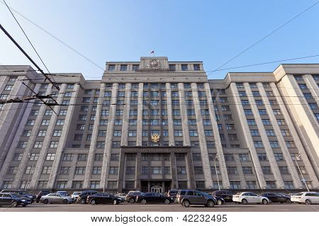 The State Duma Of Russian Federation