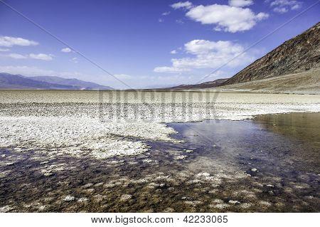 Death Valley Salt Lake
