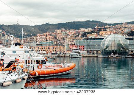 Vista de Génova - Porto Antica