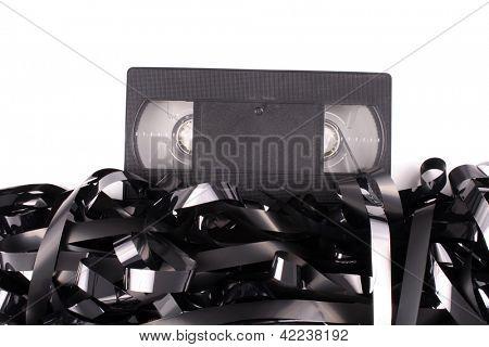 Photo of Video tape damaged