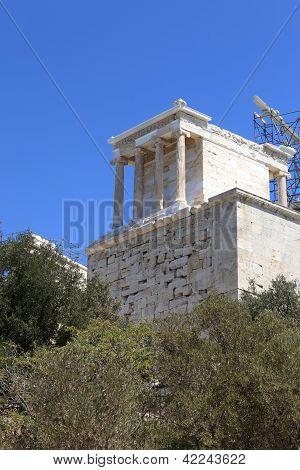 View Of Propylaea Of The Athenian Acropolis