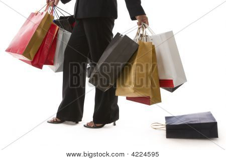 Shopping Series - Drop Bag Zoomed
