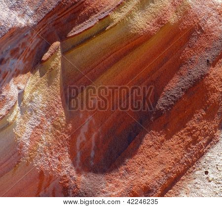 Colorful Rock Formation