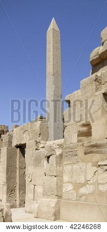 Hatschepsut-obelisk Around Precinct Of Amun-re