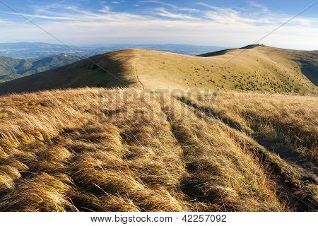 evening view of Velka Fatra mountains - Carpatian mountains - Slovak Republic.