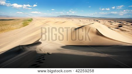 desert of Mongolia