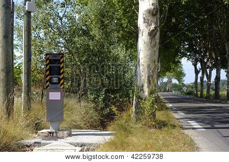 Radar On A French Road