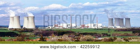 nuclear plant Dukovany - Czech Republic