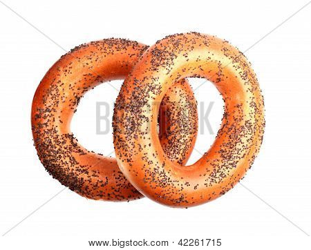Two Poppyseed Bagels